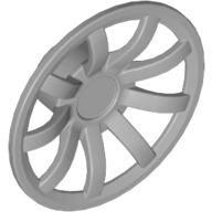 Wheel Cover 9 Spoke - 24mm D. - for Wheels 55982 and 56145, Pearl Light Gray (62701 / 4527058)