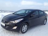 Hyundai Elantra 1.8 АКПП, черный