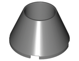 Cone 4 x 4 x 2 Hollow No Studs, Dark Bluish Gray (4742 / 4222113)