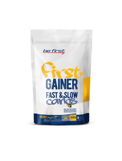BE First Gainer Fast & Slow Carbs 1000 гр