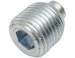 "1107-0340 Drag Specialties Пробка сливная с магнитом MAGNETIC DRAIN PLUG W/ O-RING 1/2""-20 (Primary) - 60328-98B"