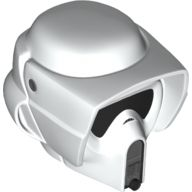 Large Figure Head Modified with SW Scout Trooper Helmet Pattern, White (bb788c01pb01 / 6182299)