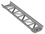 Train, Track Roller Coaster Straight 16L, Light Bluish Gray (25059 / 6185380)