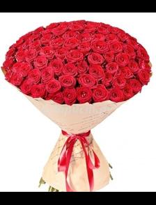 Букет 101 роза Классик