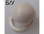 ! Б/У - Technic, Figure Accessory Helmet, White (2715) - Б/У