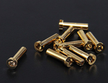 4mm Gold Connectors
