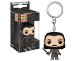 Брелок Funko Pocket POP! Keychain: Game of Thrones S8: Jon Snow (Beyond the Wall)