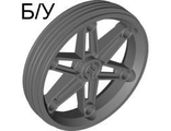 ! Б/У - Wheel 61.6mm D. x 13.6mm Motorcycle, Dark Bluish Gray (2903 / 4580588) - Б/У