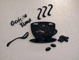 """Настенные часы """"Кофе тайм"""""""
