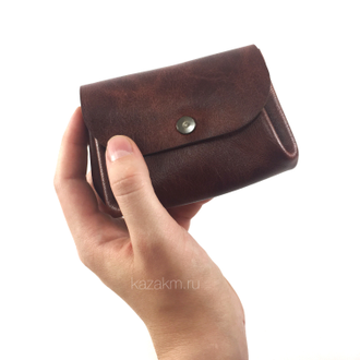 SMALL wallet (светло-коричневый мрамор)