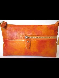 сумка клатч из натуральной кожи женская 2016
