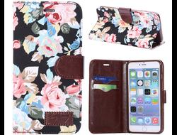 Чехол Pretty Flowers Flip для iPhone 6 Plus