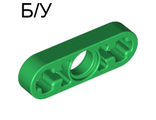 ! Б/У - Technic, Liftarm 1 x 3 Thin, Green (6632 / 4118883 / 4281193 / 6036557) - Б/У