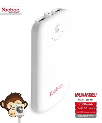 Power Bank Yoobao 7000mAh Long March YB-687-2