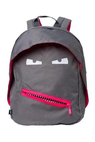 Молодежный рюкзак Zipit GRILLZ BACKPACKS серый