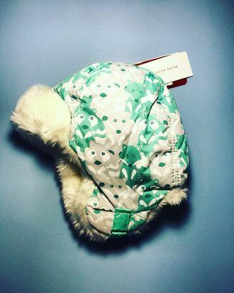 Теплая зимняя шапка-ушанка Reike цвет Green Fox