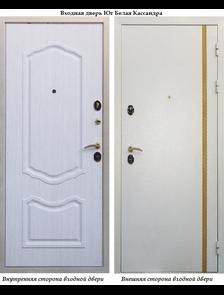 """Металлическая дверь в квартиру Юг """"Белая Кассандра"""""""