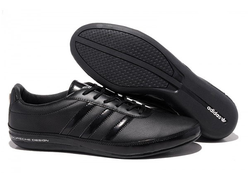 Adidas Porsche Design Black Leather мужские (41-45)
