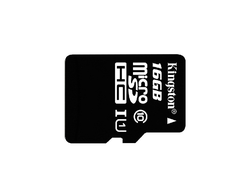 Карта памяти micro SD Kingston 16GB Class10