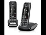 C530 DUO Black Радиотелефон DECT Gigaset с дополнительной трубкой в комплекте купить в Киеве, цена