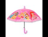 Детский зонт автомат для девочки с рюшей Принцессы