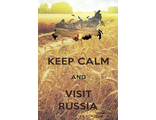 Keep calm and visit Russia