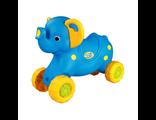 Детская каталка Слоненок голубой