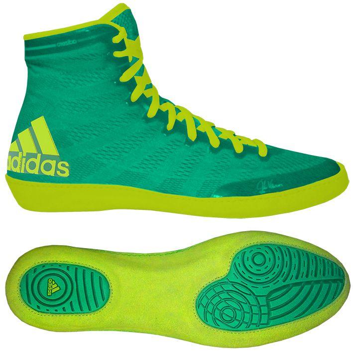 4af2768b883427 Борцовки боксерки Adidas Adizero Varner X Green