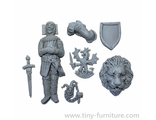 Knight's tomb kit (unpainted)