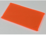 Glass for Window 1 x 4 x 6, Trans-Neon Orange (57895 / 6181824 / 6256062)