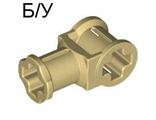 ! Б/У - Technic, Axle Connector with Axle Hole, Tan (32039 / 4188140) - Б/У