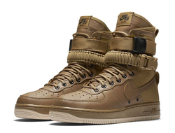 Nike Special Field Air Force 1 Golden Beige  мужские (41-46)