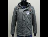 Мужская весенняя куртка серая 001-112
