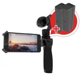 Акция!!!4K-видеокамера DJI OSMO (с трехосевой стабилизацией) + 2 АКБ в ПОДАРОК!!!
