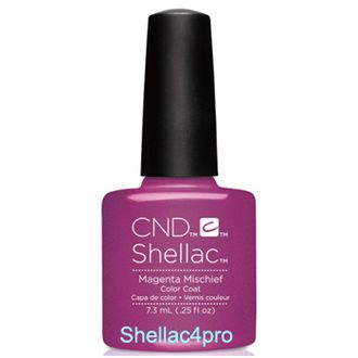 CND Shellac Magenta Mischief - Art Vandal Collection 2016