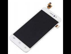 Дисплей с тачскрином для смартфона Jiayu G5 модуль белый