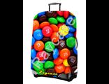 "Чехол для чемодана ""Конфеты"". Размер M"