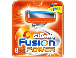 Gillette FUSION Power 8 шт.