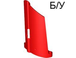 ! Б/У - Technic, Panel Fairing #20 Large Long, Small Hole, Side A, Red (44350 / 4205036 / 4277095) - Б/У
