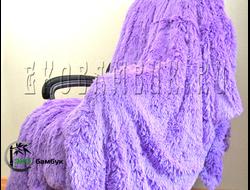 Бамбуковый плед экстра-класса Сиреневый 160х210