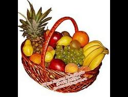 Корзина с фруктами Все Витамины