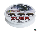 Леска Zubr Winter Fishing Line 0.16 mm. test 3.40kg. 30m