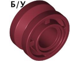! Б/У - Wheel 11mm D. x 8mm with Center Groove, Dark Red (42610 / 4185944) - Б/У