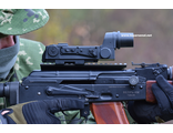 Russian Kobra red dot sight EKP-8M-PP Weaver Picatinny