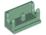Hinge Brick 1 x 2 Base, Sand Green (3937 / 4286649 / 6223234)