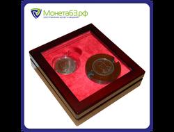 Подарочный футляр, 1 клише + 1 монета в капсуле