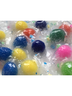 "MEGA SLIME ""Colored balls"""