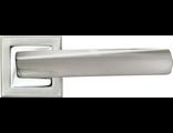 Дверные ручки RUCETTI RAP 11-S SN/CP Цвет Белый никель/хром