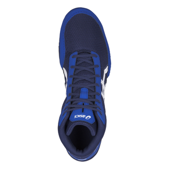борцовки Asics Matflex 5GS Детские Indigo Blue/White C545N-400 wretsling shoes фото сверху