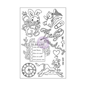 "Heaven Sent Cling Rubber Stamps 4""X6"""